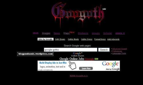google gothic